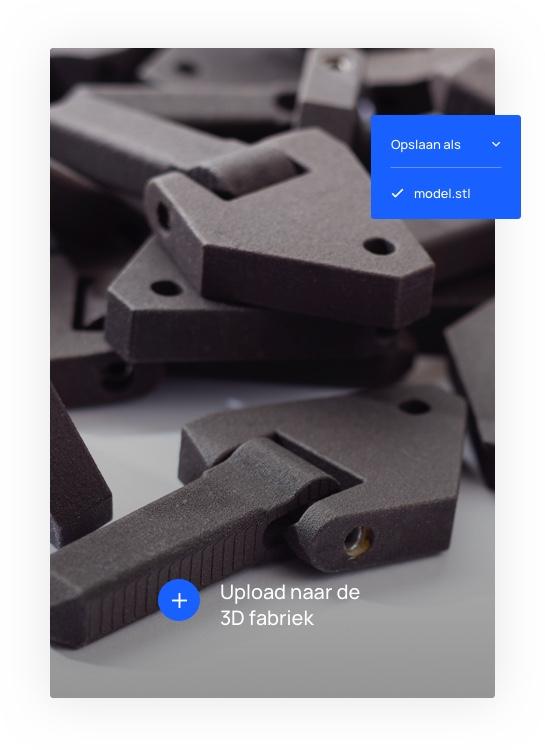 De kosten voor een 3D print