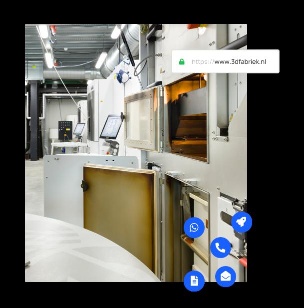 Onze 3D print fabriek